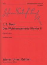 Bach, Johann Sebastian : Il Clavicembalo ben temperato, vol. II. Urtext