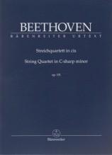 Beethoven, Ludwig van : Quartetto d'archi op. 131. Partitura tascabile. Urtext