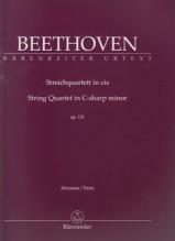 Beethoven, Ludwig van : Quartetto d'archi op. 131. Set parti. Urtext
