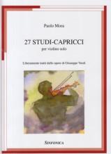Mora, Paolo : 27 Studi-capricci per Violino solo