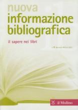 Nuova informazione bibliografica. Il sapere nei libri. Rivista trimestrale, n. 1 Gennaio-Marzo 2021