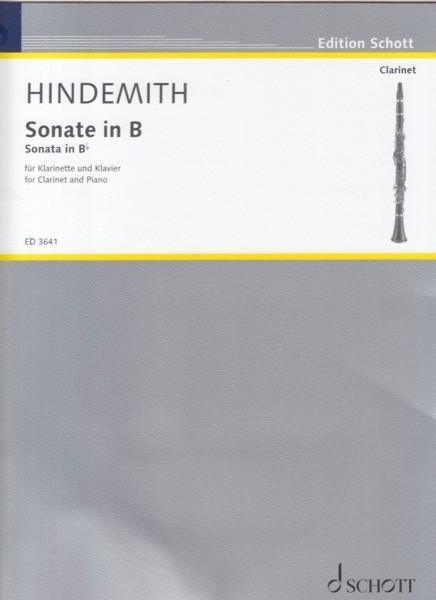 Hindemith, Paul : Sonata per Clarinetto e Pianoforte
