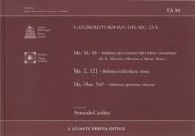 AA.VV. : Manoscritti romani del sec. XVII