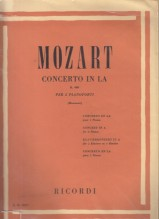 Mozart, Wolfgang Amadeus : Concerto KV 488 per Pianoforte e Orchestra, riduzione per 2 Pianoforti