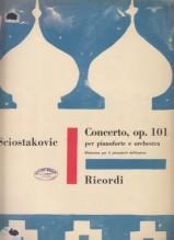 Shostakovich, Dmítrij : Piano Concerto op. 101, riduzione per 2 Pianoforti