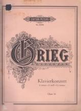 Grieg, Edvard : Concerto per Pianoforte e Orchestra op. 16, riduzione per 2 Pianoforti