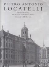 Locatelli, Pietro Antonio : 12 Sonatas op. 2, per Flauto e Basso continuo vol. I