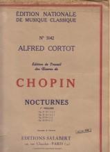 Chopin, Frédéric : Nocturnes per Pianoforte, vol. I