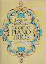 Beethoven, L. van : 6 trii per Pianoforte, Violino e Violoncello. Partitura