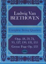 Beethoven, L. van : Quartetti per Archi completi. Partitura