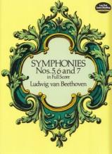 Beethoven, L. van : Sinfonie nn. 5, 6 e 7. Partitura
