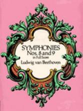 Beethoven, L. van : Sinfonie nn. 8 e 9. Partitura