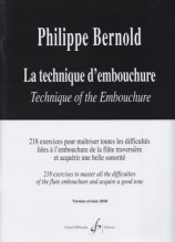 Bernold, P. : La technique d'embouchure