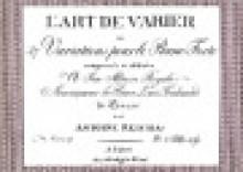 Reicha, A. : L'art de varier per Fortepiano. Facsimile
