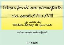AA.VV. : Pezzi facili per Pianoforte vol. II: media difficoltà (de Gainza)