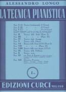 Longo, A. : La tecnica pianistica, fascicolo 1 (B). Tecnica fondamentale (2° Corso)