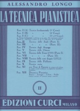 Longo, A. : La tecnica pianistica, fascicolo 2. Tecnica delle scale (Parte 1)