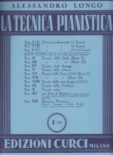 Longo, A. : La tecnica pianistica, fascicolo 1 (A). Tecnica fondamentale (1° Corso)