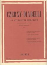 Czerny, C. - Diabelli, A. : 40 Studietti melodici per Pianoforte a 4 mani