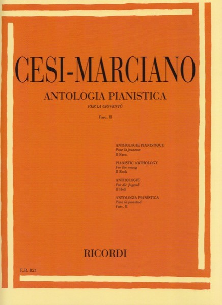 AA.VV. : Antologia pianistica per la gioventù, vol. 2