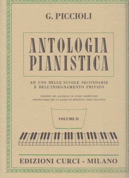 AA.VV. : Antologia Pianistica ad uso delle scuole secondarie e dell'insegnamento privato, vol. 2