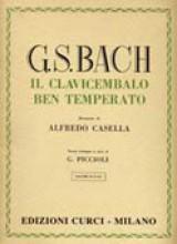 Bach, J.S. : Il Clavicembalo ben temperato, vol. I per Pianoforte