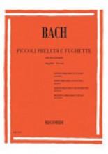Bach, Johann Sebastian : Piccoli preludi e fughette, per Pianoforte