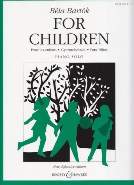 Bartók, B. : For Children, vol. 2 per Pianoforte