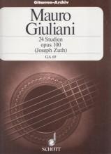 Giuliani, M. : 24 Studi op. 100, per Chitarra
