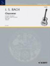 Bach, J.S. : Ciaccona dalla Partita n. 2 per Violino solo BWV 1004, trascrizione per Chitarra