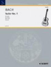 Bach, J.S. : Suite per Violoncello n. 1 BWV 1007 , trascrizione per Chitarra