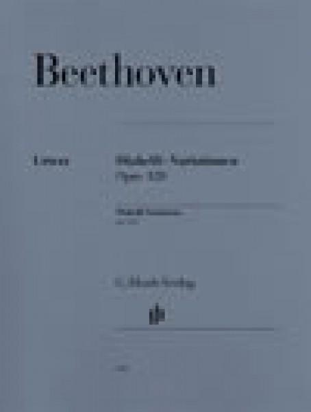 Beethoven, L. van : 33 variazioni op. 120 su un tema di Diabelli, per Pianoforte. Urtext