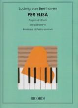 Beethoven, L. van : Per Elisa, per Pianoforte (Montani)