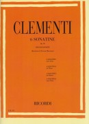 Clementi, M. : 6 Sonatine op. 36, per Pianoforte