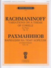 Rachmaninov, S. : Variations on a Theme of Corelli op. 42, for Piano