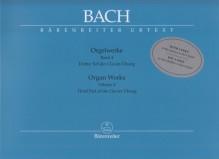 Bach, J.S. : Composizioni per Organo, vol. IV: Dritter Teil der Klavierübung. Urtext