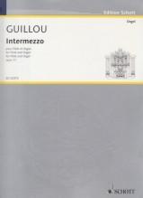 Guillou, J. : Intermezzo, for Flute and Organ