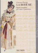 Puccini, G. : La Bohème, per Canto e Pianoforte