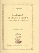 Granata, G.B. : Sonata di Chitara e Violino con il suo Basso continuo