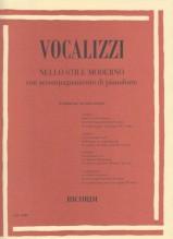 AA.VV. : Vocalizzi nello stile moderno con pianoforte (8 vocalizzi per voce acuta - serie II)