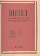 Micheli, U. : 50 Solfeggi cantati