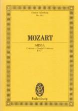 Mozart, W.A. : Messa in do minore KV 427. Partitura tascabile