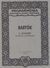 Bartók, B. : Concerto per Pianoforte e Orchestra nr. 2. Partitura tascabile