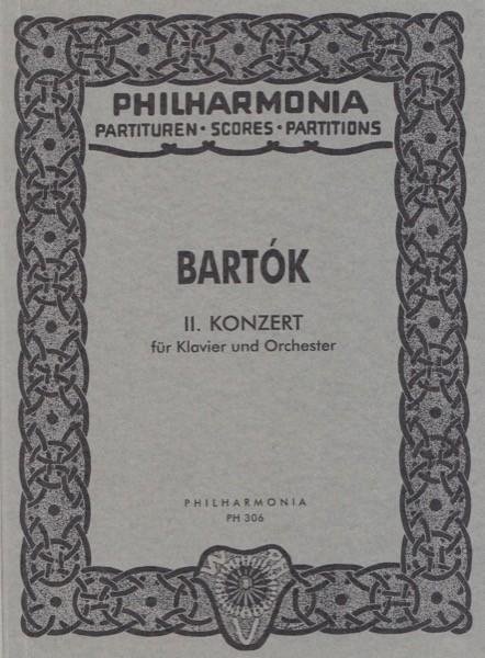 Bartók, Béla : Concerto per Pianoforte e Orchestra nr. 2. Partitura tascabile