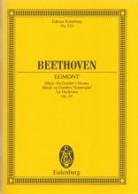 Beethoven, L. van : Egmont op. 84. Partitura tascabile