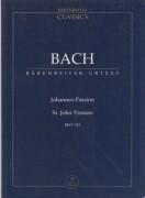Bach, J.S. : Passione secondo Giovanni. Partitura tascabile. Urtext