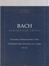 Bach, J.S. : Orchestral Suite n. 1 BWV 1066, partitura tascabile. Urtext