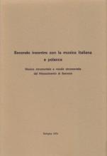 AA.VV. : Secondo incontro con la musica italiana e polacca. Musica strumentale e vocale strumentale dal Rinascimento al Barocco