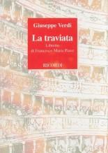 Verdi, G. : La traviata, libretto