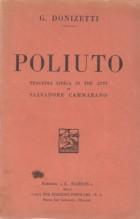 Donizetti, G. : Poliuto, libretto